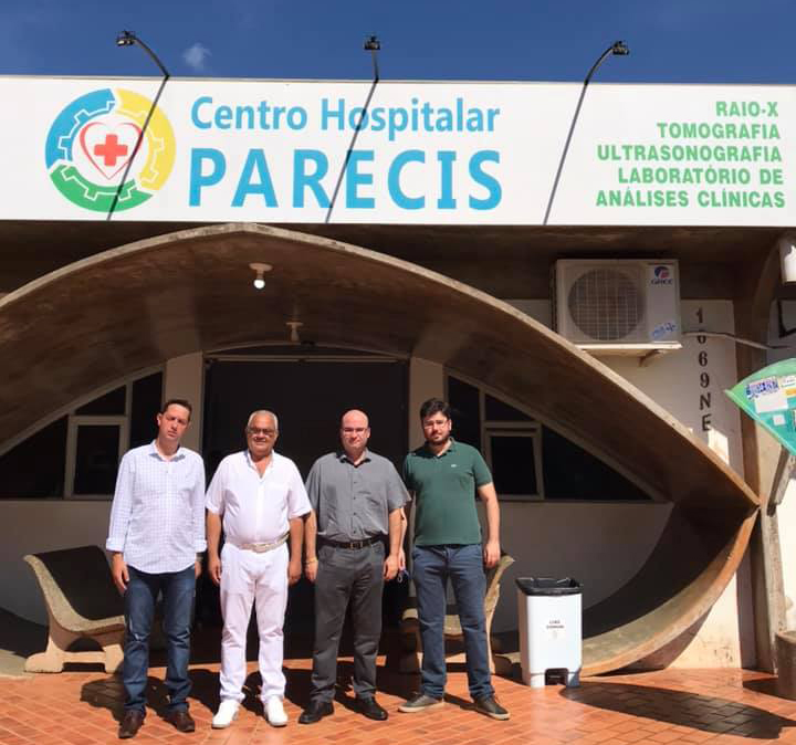 ISSRV assume gestão do Centro Hospitalar Parecis